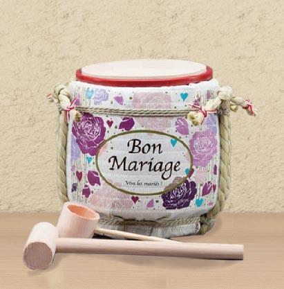 ミニこも樽で結婚プチサプライズ《鏡開き》! | 稲田屋